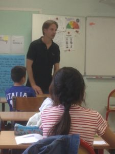 Gilles Abier - école La Sablonnière