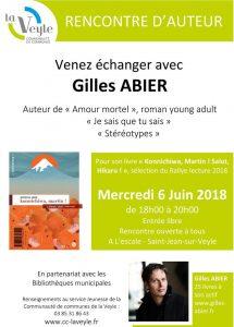 Gilles Abier - Affiche 6 juin