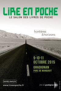 Gilles Abier - Affiche Lire en poche 2015