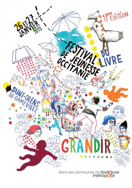 Gilles Abier - Affiche St-Orens