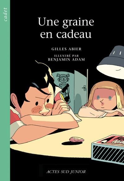 Gilles ABier - Une graine - Première couverture