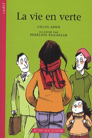 Gilles Abier - La vire en verte - première couverture