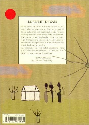 Gilles Abier - Verso couverture Le Reflet de Sam