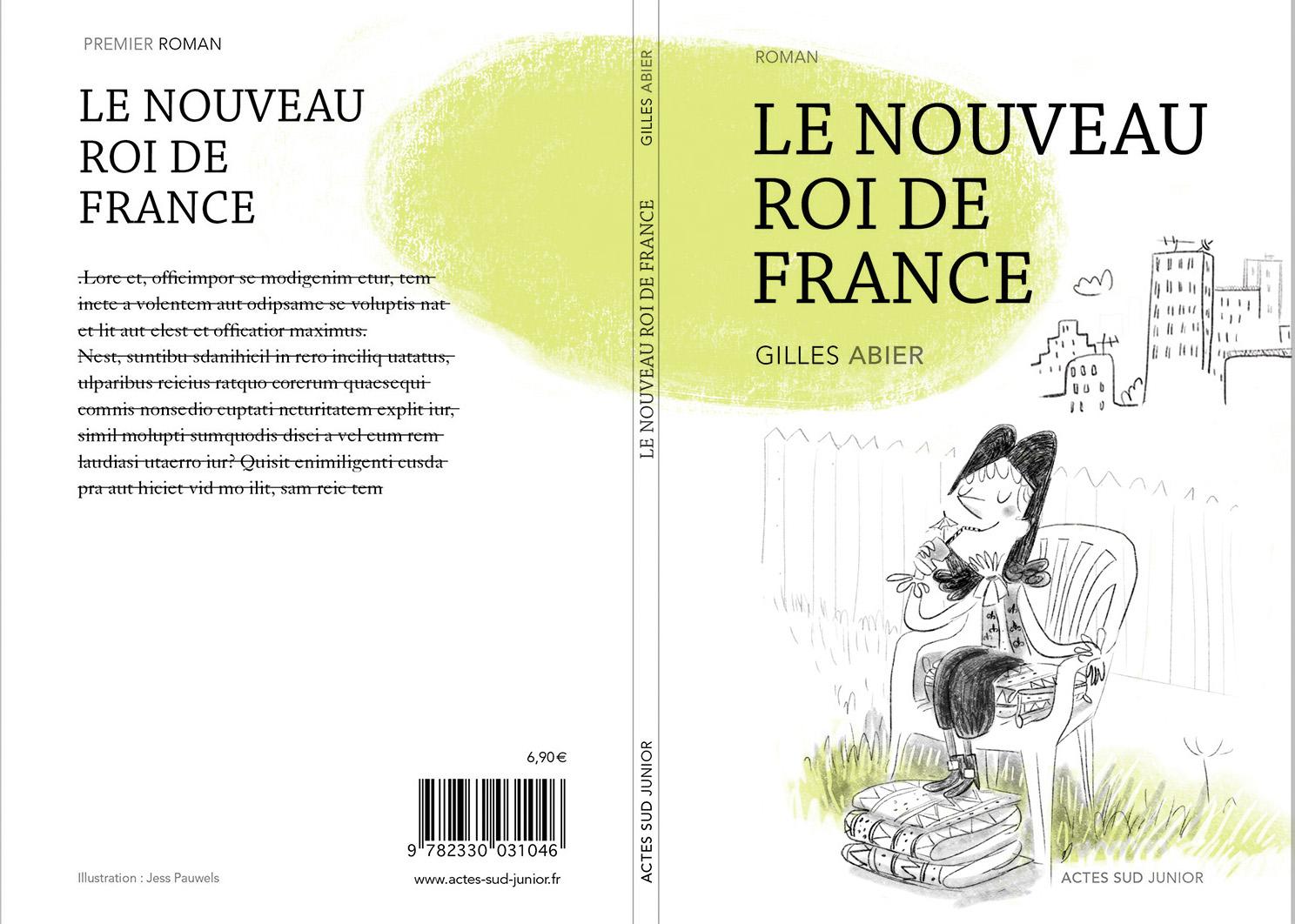 Gilles Abier - proposition couverture Roi
