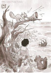 Gilles Abier - Mini Ludvin - les 3 chats